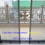 Cửa chống muỗi không ray CLKR – 05