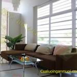 Cửa lưới chống muỗi dành cho ngôi nhà màu trắng