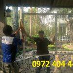 Khi sử dụng cửa lưới chống muỗi Inox 304 cần lưu ý