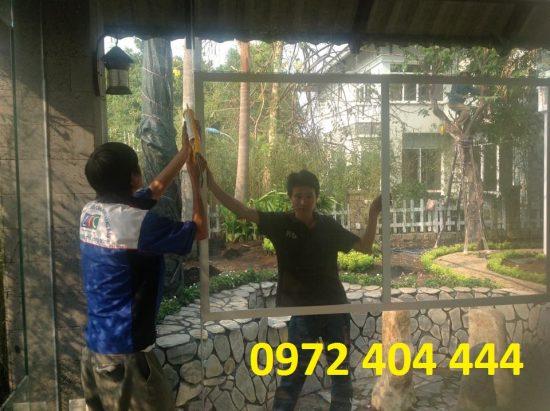 Cửa lưới Lương Tiến thi công cửa lưới uy tín và chất lượng