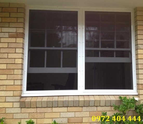 Cửa lưới bảo vệ ngôi nhà an toàn và hiệu quả