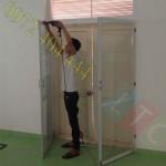 Lắp đặt cửa lưới chống muỗi chất lượng quận Hóc Môn