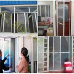Lắp đặt cửa lưới chống muỗi quận Tân Bình